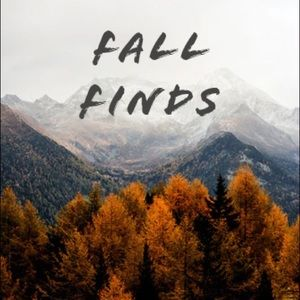 🍂Fall Finds! Great items for the autumn season🍂
